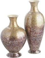 Pier 1 Imports Golden Ombre Mosaic Vases