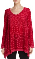 Johnny Was Jossimar Embroidered Eyelet Tunic