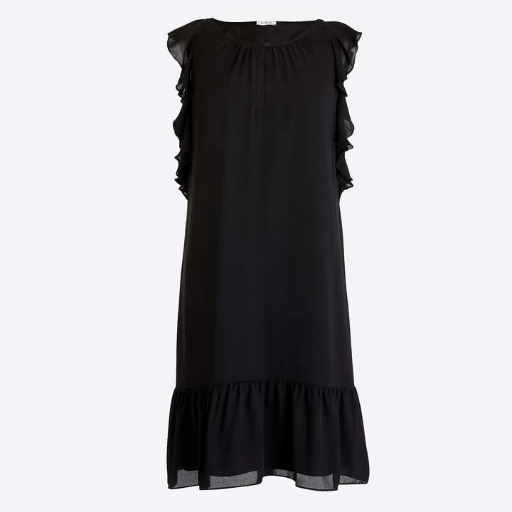 J.Crew Flutter-sleeve dress