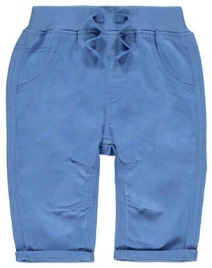 George Blue Woven Trousers