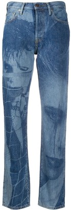 Acne Studios 1997 Magazine print jeans