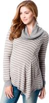 Motherhood Hanky Hem Maternity Sweater