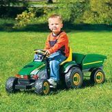 John Deere Farm Tractor, with Trailor