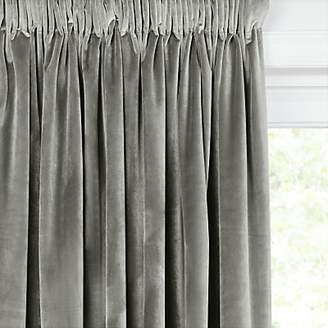 John Lewis & Partners Lustre Velvet Pair Lined Multiway Curtains