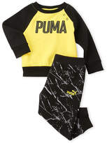 Puma Infant Boys) Fleece Pullover & Printed Sweatpants
