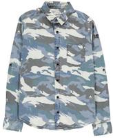 Zadig & Voltaire Sale - Camouflage Denim Shirt