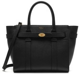 Mulberry Small Zipped Bayswater Leather Satchel - Black