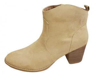ASOS Camel Suede Ankle boots