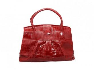 Nancy Gonzalez Red Crocodile Handbags