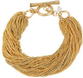 Kenneth Cole New York Gold Multi Chain Toggle Bracelet