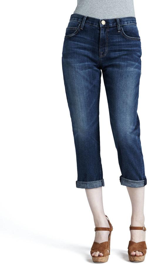 Current/Elliott The Boyfriend Cropped Jeans