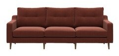 """Thumbnail for your product : Corrigan Studio Vandervort 85"""" Square Arm Sofa with Reversible Cushions Fabric: Brown"""