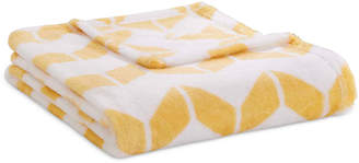 Simmons Intelligent Design Chevron Plush Full/Queen Blanket Bedding