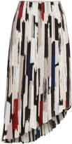 Linea Carrie pleated printed skirt