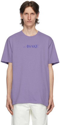 Awake NY Purple Logo T-Shirt