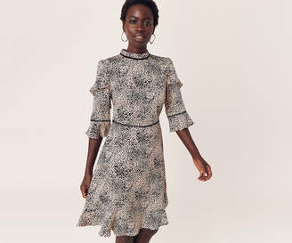 Oasis Leopard Skater Dress