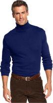 John Ashford Long-Sleeve Turtleneck Interlock Shirt