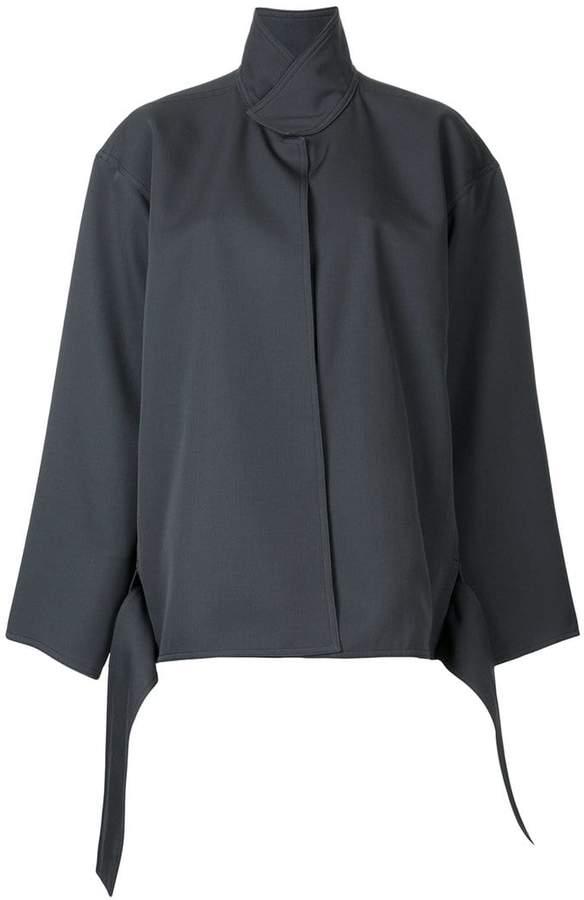 Lemaire funnel neck jacket
