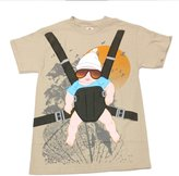Old Glory The Hangover - The Baby Carrier Costume T-Shirt - 2X-Large