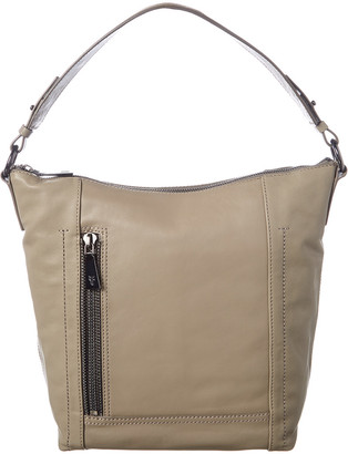Frye Lena Leather Zip Hobo Bag