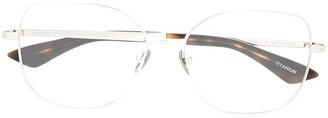 Emmanuelle Khanh Square Frame Glasses