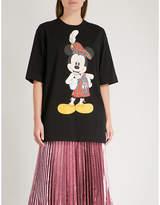 Christopher Kane Mickey Mouse cotton-jersey T-shirt