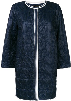 Ermanno Ermanno Embroidered Coat