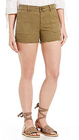 KUT from the Kloth Gidget Pork-Chop Pocket Raw Hem Shorts