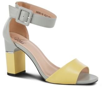 Azura Barbra Ankle Strap Sandal