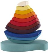 Baby Essentials Rainboat Wood Stacking Toy