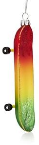 Bloomingdale's Glass Rainbow Skate Board Ornament - 100% Exclusive