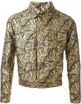 Dresscamp tiger stripe jacquard jacket