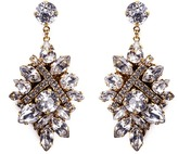 Erickson Beamon 'Parlor Trick' Swarovski crystal cluster drop earrings