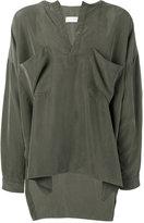 Faith Connexion chest pockets oversized shirt - men - Silk - S