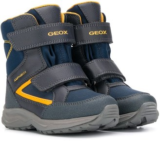 Geox Kids touch-strap boots
