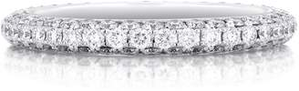 De Beers White Gold and Diamond Darling Eternity Band (2.3mm)