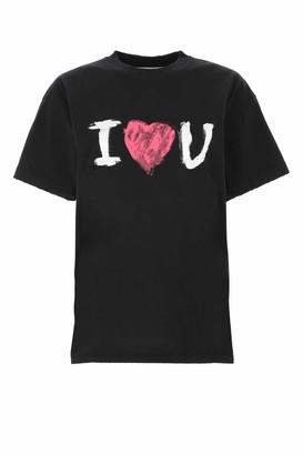 Balenciaga I Love U Print T-Shirt