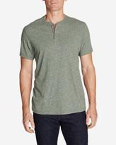 Eddie Bauer Men's Short-Sleeve Henley Shirt