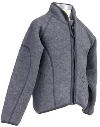 Mikk-Line Boy's Fleecejacke Junior Wool Jacket,(Size: 104)