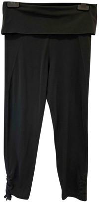 Sweaty Betty Khaki Synthetic Trousers