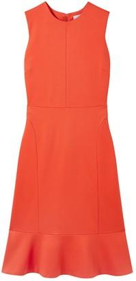 Jigsaw Peplum Hem Jersey Dress