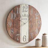 Pier 1 Imports Farmhouse Wall Clock