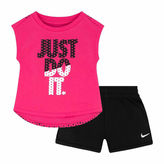 Nike Infant Girl Just Do It Short Set