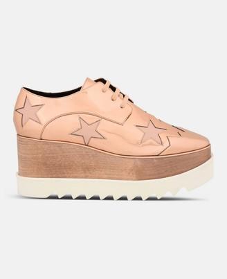 Stella McCartney copper elyse star shoes