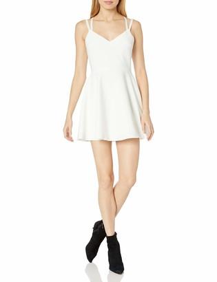 Women's Whisper Light Dress French Connection Women's Whisper Light Sleeveless Strappy Stretch Mini Dress