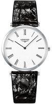 Longines La Grande Classique Leather Strap Watch