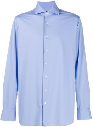 Lardini Geometric Pattern Dress Shirt