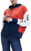 Tommy Jeans Organic Cotton Blend Colour-Blocked Hoody