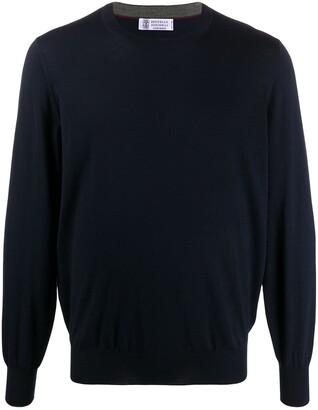 Brunello Cucinelli Long-Sleeve Sweatshirt