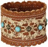 Leather Rock B956 Bracelet